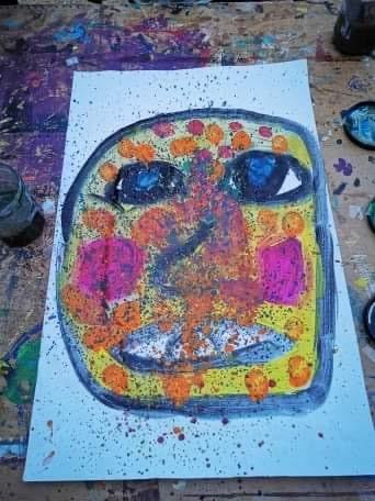 'Picasso', par Emma. Réalisé à l'atelier de Massy