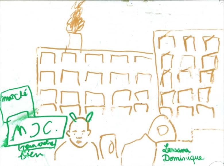 Lassana et dominique